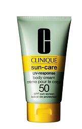 Clinique UV-Response Body cream in SPF 50. Source: Clinique.com
