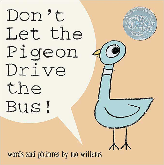 Do Not Let The Pigeon Drive The Bus