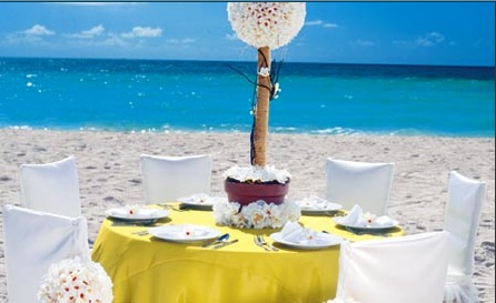 Preston Bailey's Sandals Destination Wedding