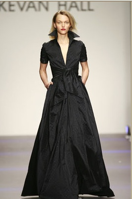Kevan Hall Black Gown