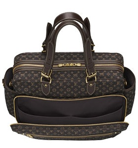 Louis Vuitton Diaper Bag - Source: Eluxury.com
