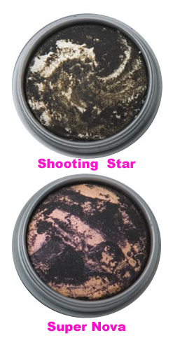 Too Faced Galaxy Glam Eye Shadow (Shooting Star & Super Nova)