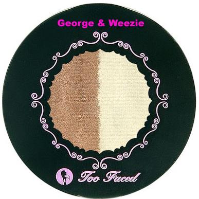 Too Faced George & Weezie Duo Eye Shadow