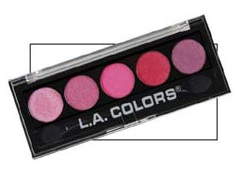 LA Colors Serenade Palette
