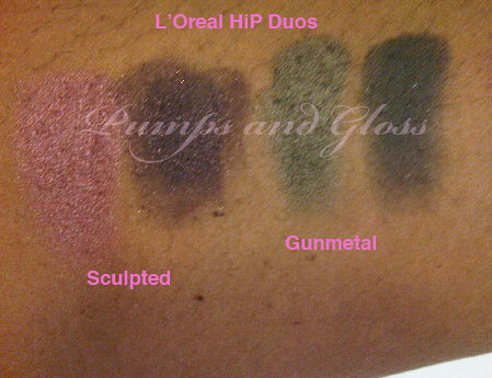 L'Oreal Hip Duos Sculpted and Gunmetal