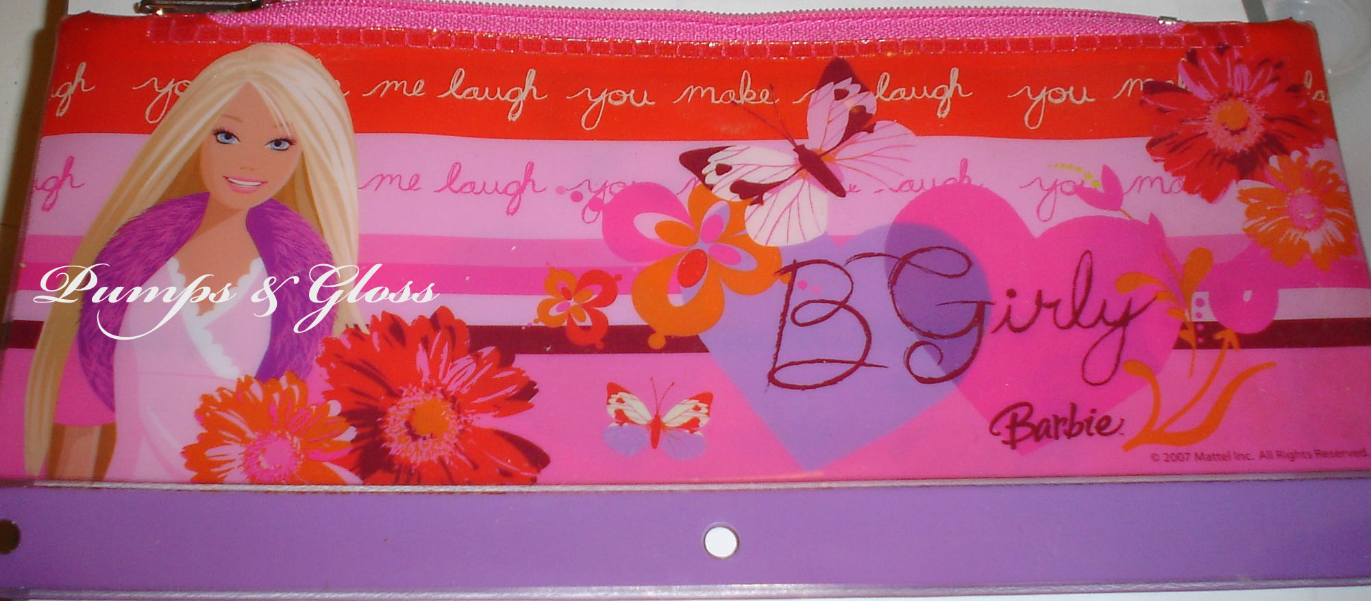 Barbie Brush Case