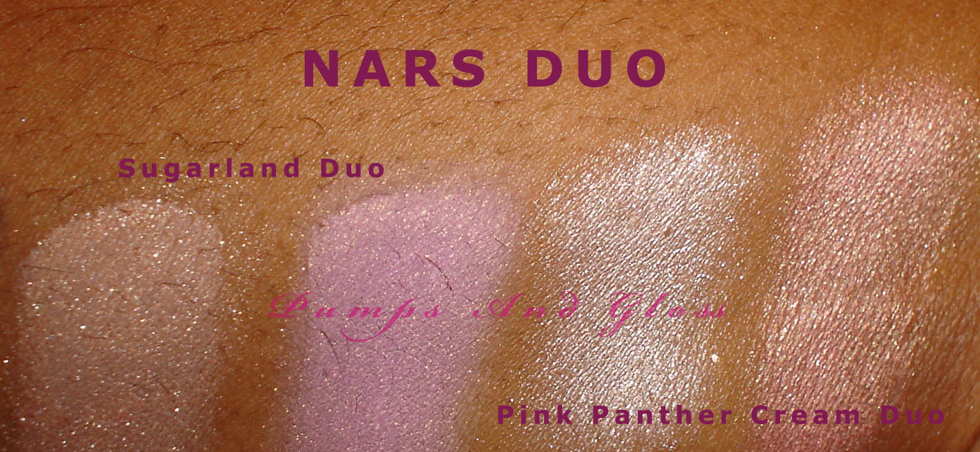 NARS Sugarland Duo (MAC Painterly p/p as Base) and NARS Pink Panther Cream Duo