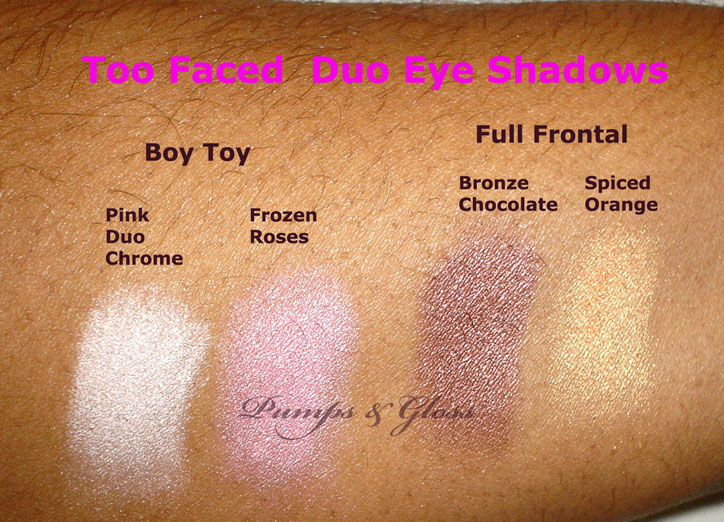 Too Faced Duo Eye Shadow: Boy Toy and Full Frontal