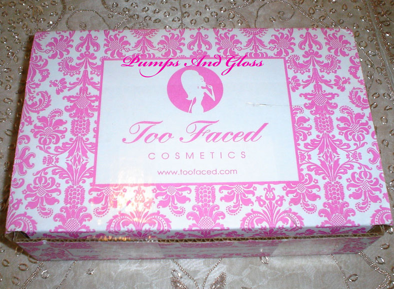 Too Faced Cosmetics Package