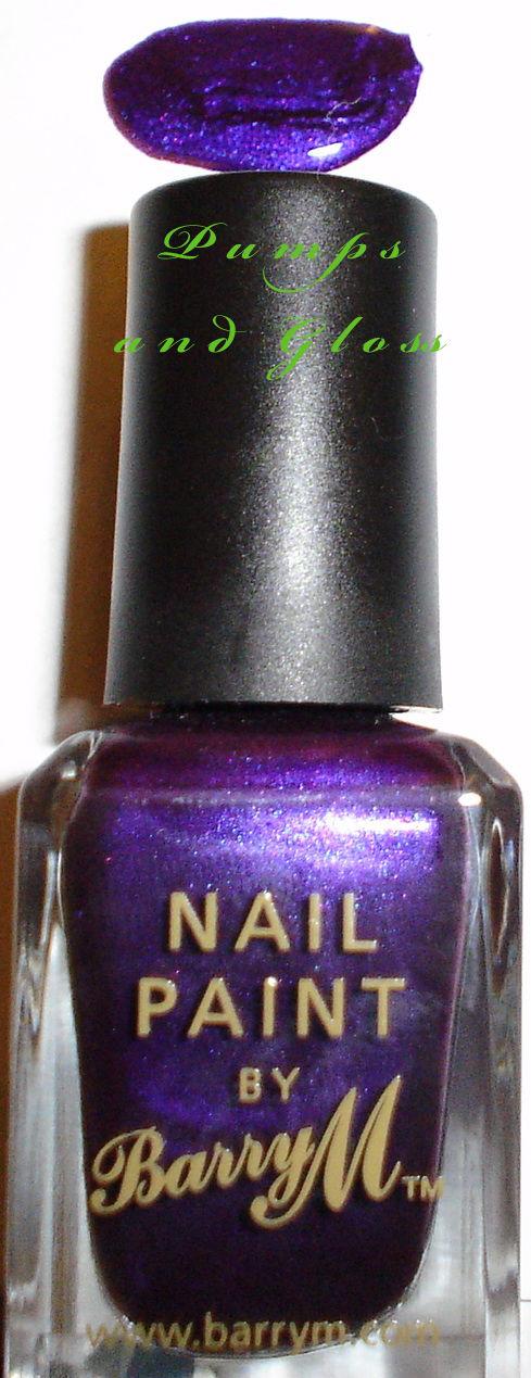 Barry M Nail Polish Vivid Purple