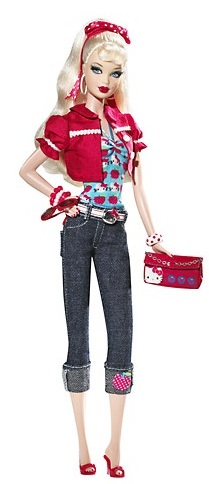Hello Kitty Barbie $39.99
