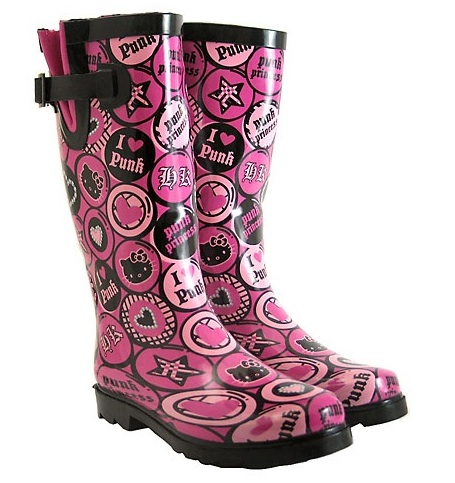 Hello Kitty Rain Boots - Punk $70.00