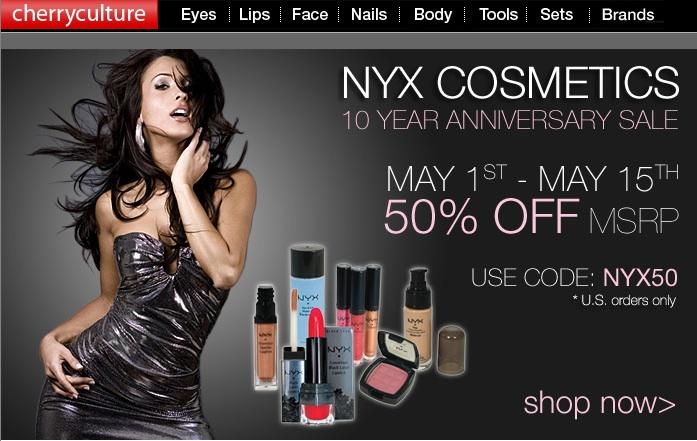 Nyx coupon codes
