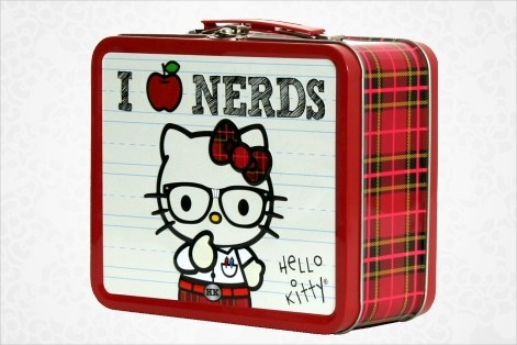 Hello Kitty Lunchbox - I Love Nerds.