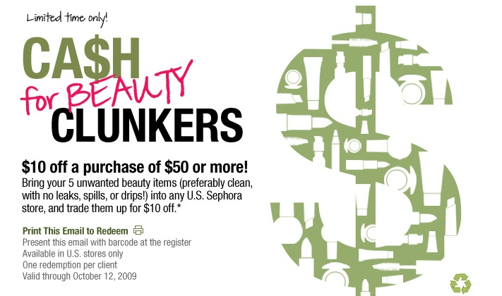 Cash for Beauty Clunkers