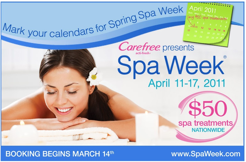 Following the immense popularity it has had in the Unites States since , Spa Week comes to Canada. Headed by WaySpa, a Canadian online spa marketplace, the event will be taking place in three cities: Toronto, Vancouver, and Montreal.