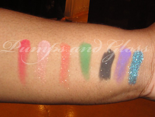 Magnolia Cosmetics Swatches