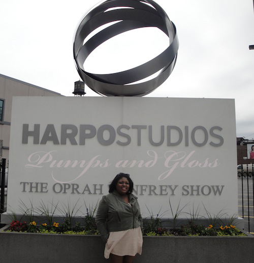 Outside Harpo Studios