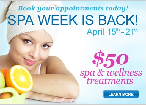 Spa Week Spring 2013 Event