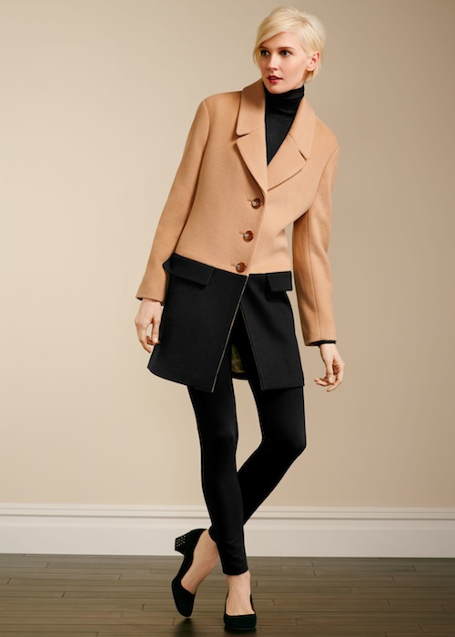 Talbots Colorblocked coat