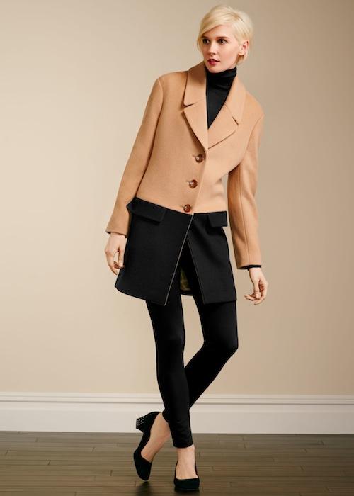Talbots Colorblocked coat