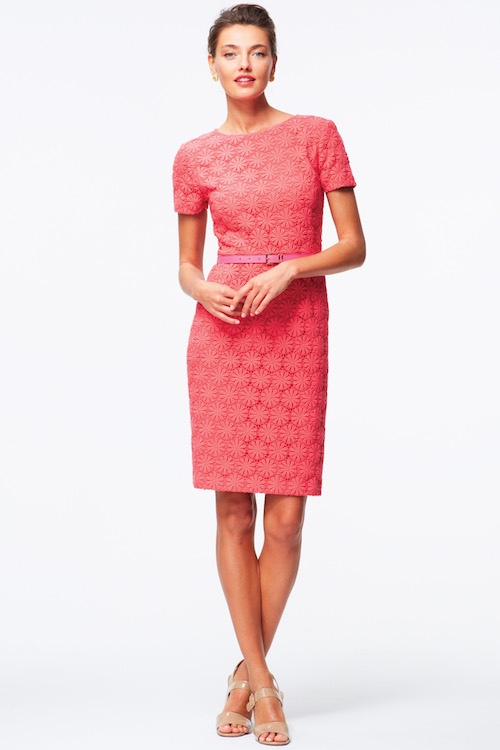 Talbots Circle-lace dress