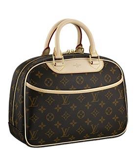 Louis Vuitton Trouville Bag - Source: Eluxury.com