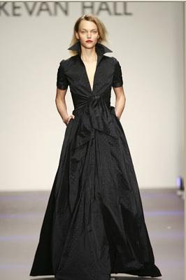 Kevan Hall Black Gown
