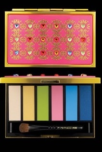 Manish Arora for MAC eye shadow palette