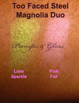 Too Faced Steel Magnolia Duo Eye Shadow