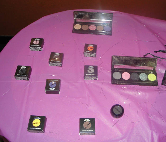FaceDrama Cosmetics Singles and Palettes