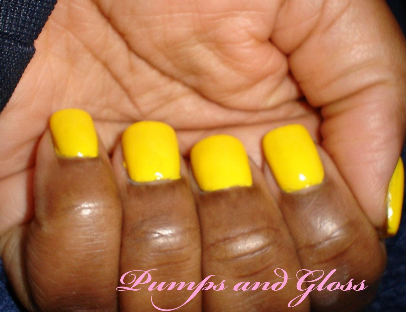 Bareille Lemondrops Nail Polish