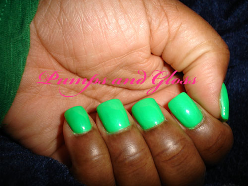 China Glaze In The Lime Light