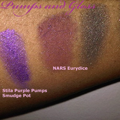 Stila Purple Pumps Smudge Pot, NARS Brousse Duo