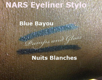 NARS Stylo - Blue Bayou and Nuits Blanches
