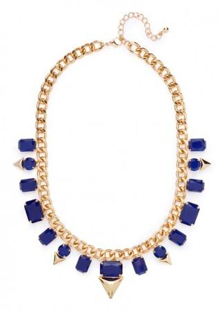 BaubleBar Sapphire Spike Collar
